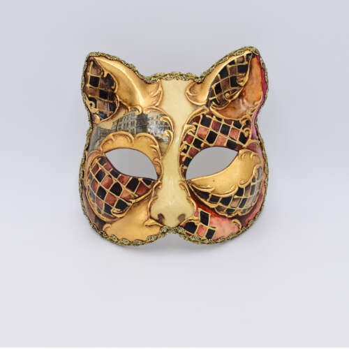 gatto_acquerello_bronzo