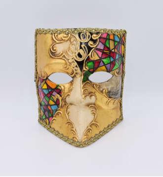 bauta bizantino multicolore