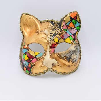 gatto bizantino multicolore