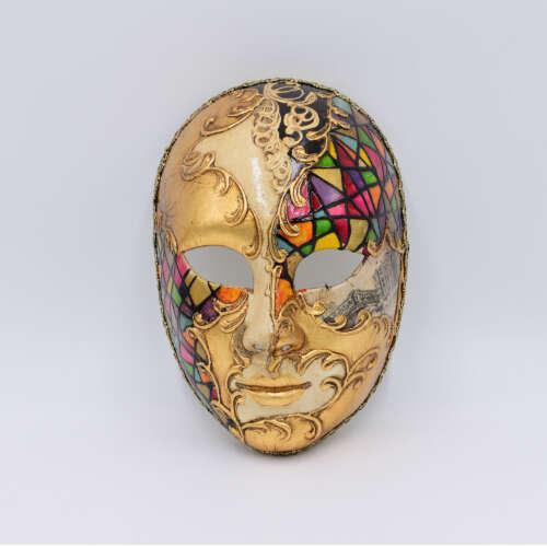 volto bizantino multicolore